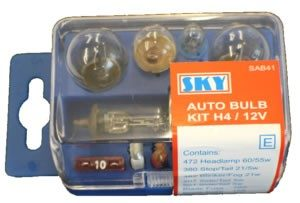 EMERGENCY BULB KIT H4