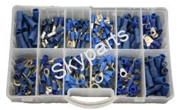 MIXED BOX BLUE INSULATED TERMINALS