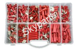MIXED BOX RED INSULATED TERMINALS1X280