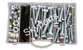 MIXED BOX NUTS&BOLTS UNF.1X65