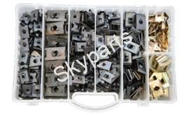 MIXED BOX SPIRE CLIPS1X450