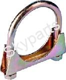 EXHAUST CLAMPS 38MM.1X10