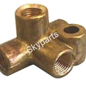 BRAKE PIPE4WAY10MM.X1MM.