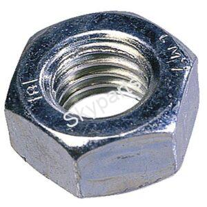 STEEL 6mm METRIC NUTS