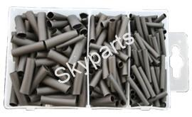 ASSORTED HEAT SHRINK LENGTHS BLACK
