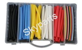 ASSORTED FIVE COLOUR HEAT SHRINK