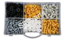 ASSORTED NUMBER PLATE FIXINGS