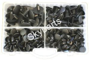 ASSORTED FIR TREE PANEL CLIPS
