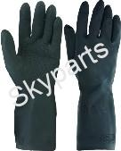 COMMERCIAL RUBBER GLOVES X-LARGE