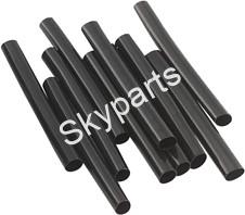 BLACK HEAT SHRINK TUBING 3.2mm