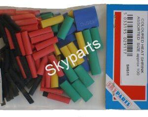 ASSORTED COLOURED HEAT SHRINK