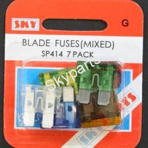 MIXED PACK BLADE FUSES
