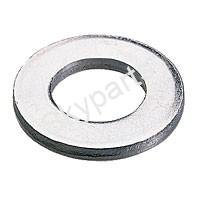 5mm FLAT STEEL WASHERS X 20