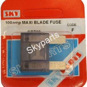 100 AMP MAXI BLADE FUSE CARDED