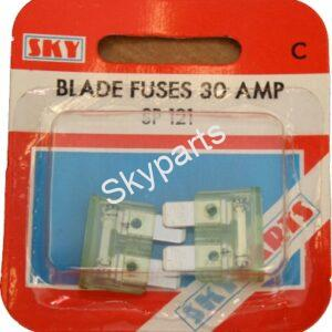 30 AMP BLADE FUSES CARDED
