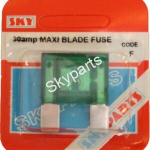 30 AMP MAXI BLADE FUSE CARDED