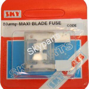 80 AMP MAXI BLADE FUSE CARDED