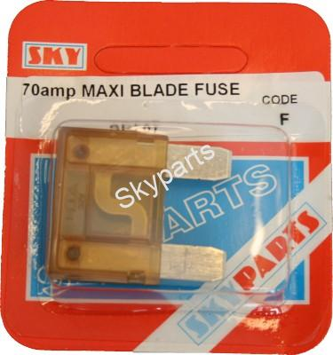 70 AMP MAXI BLADE FUSE CARDED