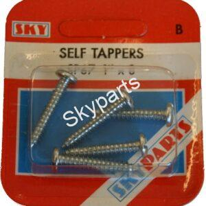 "PAN HEAD SELF TAPPERS 1"" X 8"