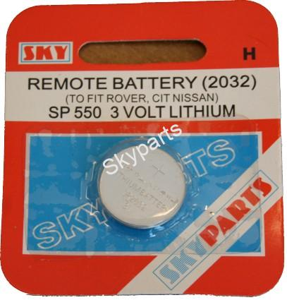 REMOTE BATTERY [2032]1X10