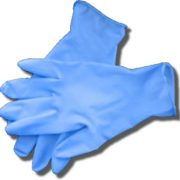200 LARGE LIGHTWEIGHT NITRILE DISPOSABLE GLOVES