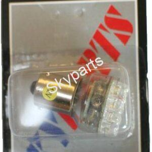 12V LED AMBER 581 BULB (OFFSET PIN)