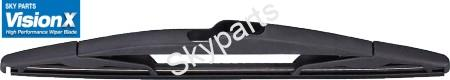 TOYOTA YARIS 1999-01  REAR WIPER BLADE