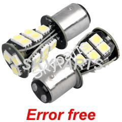 18 LED STOP & TAIL  WHITE CANBUS
