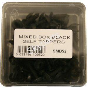 ASSORTED BOX BLACK FLANGED SELF TAPPERS