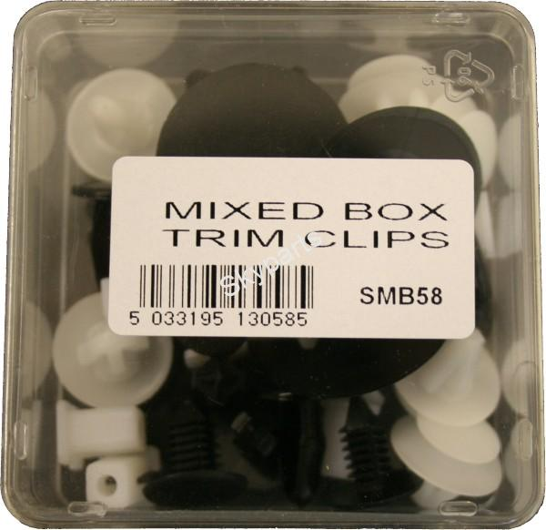 MIXED BOX TRIM CLIPS