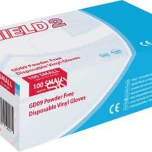 DISPOSABLE GLOVE VINYL MEDIUM 1X100