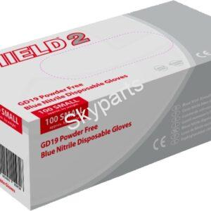 DISPOSABLE GLOVE NITRILE MEDIUM 1X100