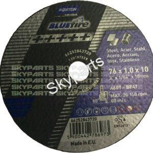 """3"""" Air Tool Cutting Disc pack of 5"""