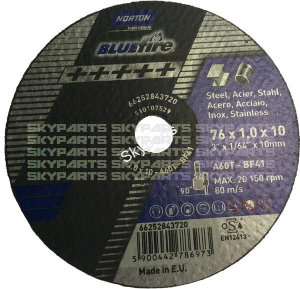 "3"" Air Tool Cutting Disc pack of 5"