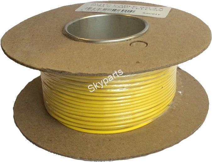 AUTO CABLE 9/0.3 X50Mtr 5amp Yellow