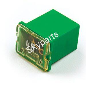 J-Case Cartridge fuse 40A Low Profile 1x2 (Green)