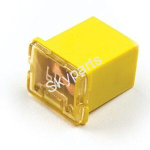 J-Case Cartridge fuse 60A Low Profile 1x2 (Yellow)